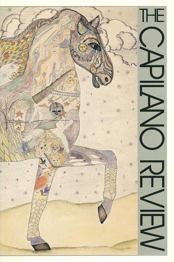 """Alexandra Dikeakos, Nightmare, 1990 pen & ink, watercolour, 30"""" x 40"""""""