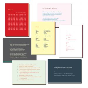 Languages Greeting Cards: Set of 7