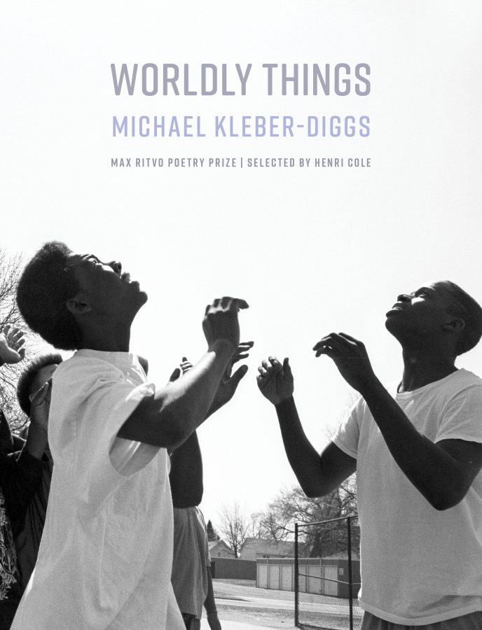 """Cover image of the book """"Worldly Things"""" by Michael Kleber-Diggs"""